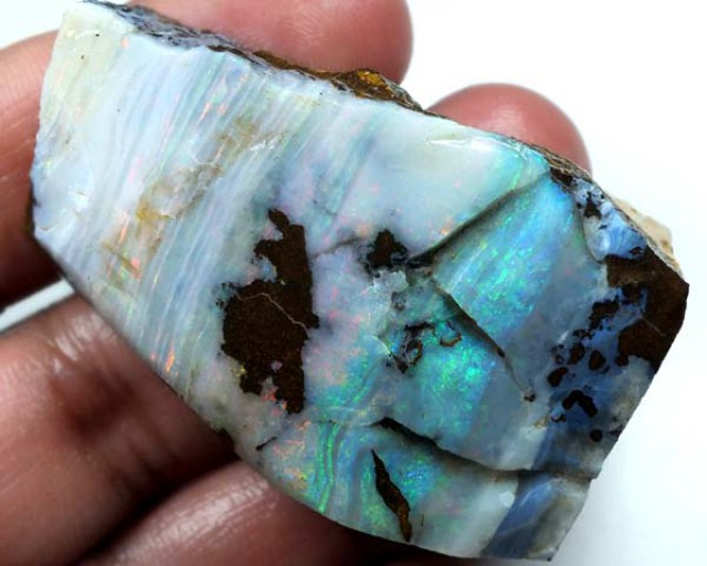 BOULDER OPAL ROUGH   210 CTS DT-3528