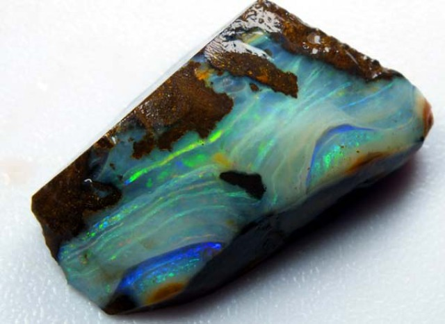 BOULDER OPAL ROUGH 81.55  CTS DT-3545