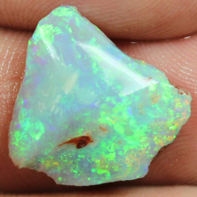 7.65 CTS BLACK OPAL ROUGH/ RUB FOR CUTTING ELECTRIC