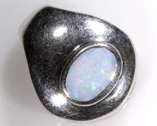 6 CTS  OPAL INLAY SILVER PENDANT TBO-2936