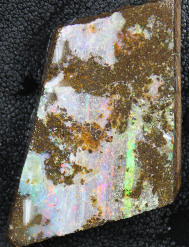 50.70 CTS  BOULDER OPAL RUB PRE SHAPED FOR EASY CUTTING