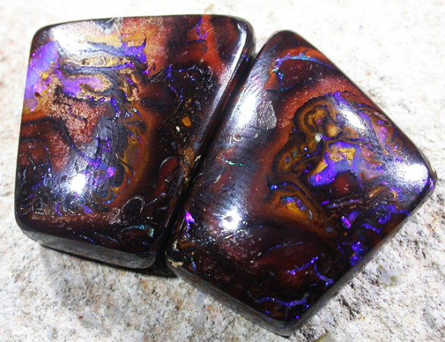 29.4 CTS YOWAH OPAL PAIR-WELL POLISHED [SO4297]