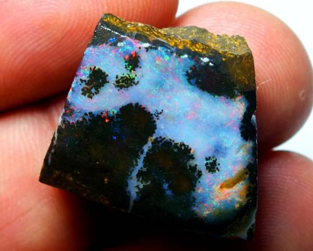 40cts Quality Australian Boulder Opal Rough C25