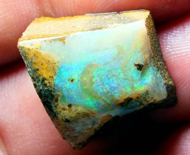 22cts Quality Australian Boulder Opal Rough C27