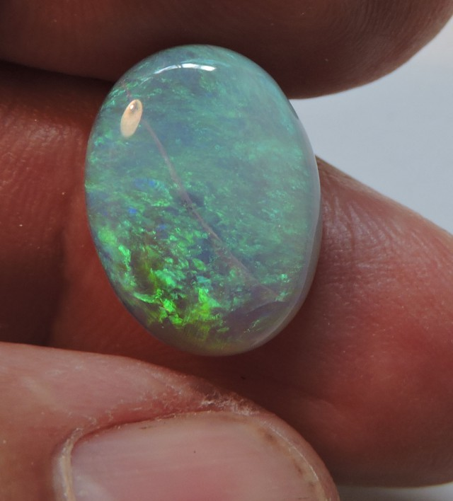 6.5 Cts Potch lines in natural  opal Pl 1401