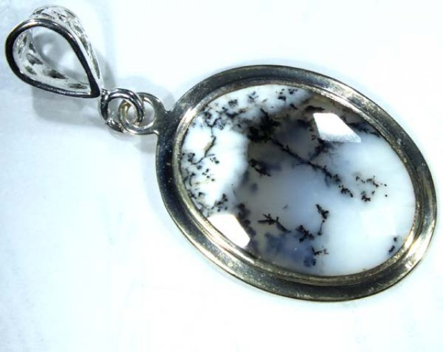 DENDRITIC OPAL PENDANT 28 CTS  OF-856