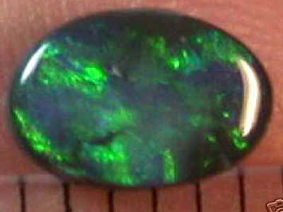 GREEN FIRE BLACK OPAL  ES449[OA]
