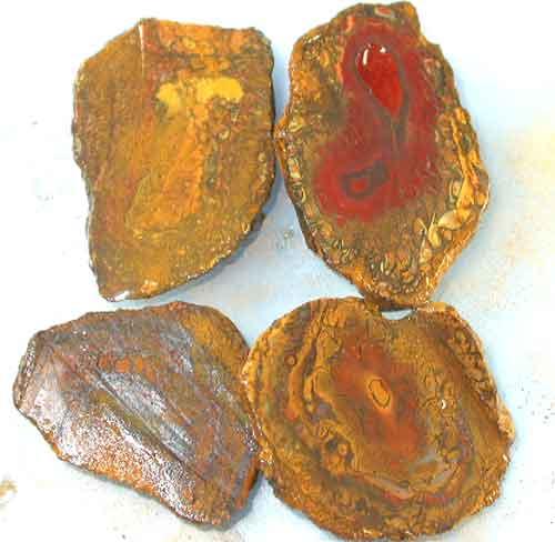 140 CTS PARCEL DEAL YOWAH NUTS SLICED 4 PCS { YN-12 }