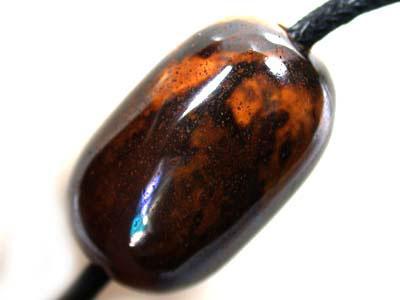 BEAUTIFUL  BOULDER OPAL BEAD  30.20CARATS K1187