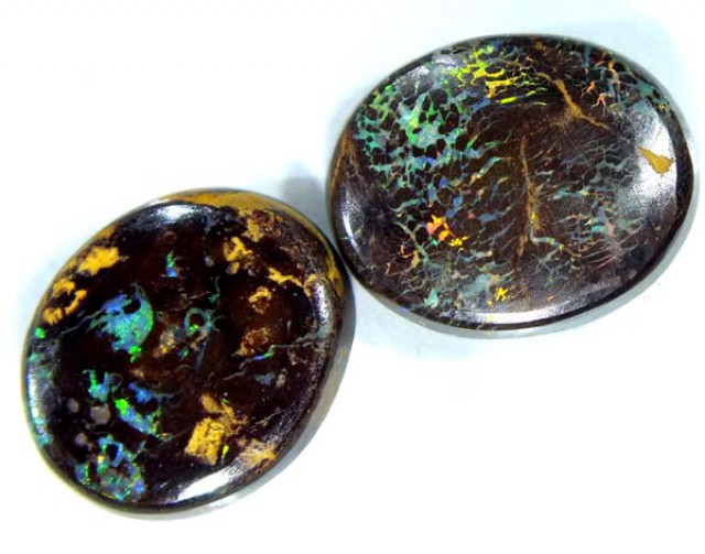 BOULDER  OPAL PAIR 8.80 CTS    TBO-3036