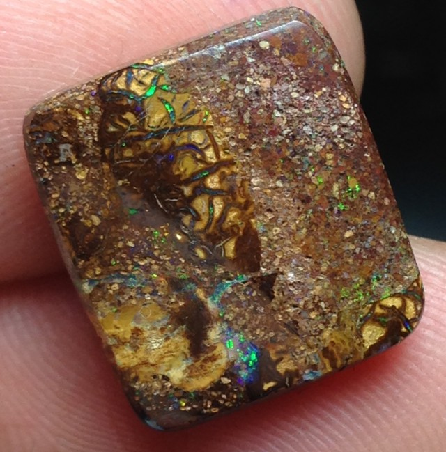 BARGAIN BUY IT NOW Boulder Opal Picture Stone AB206 9cts