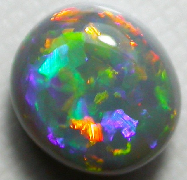 1.00CTS LIGHTNING RIDGE BLACK OPAL  [f14]