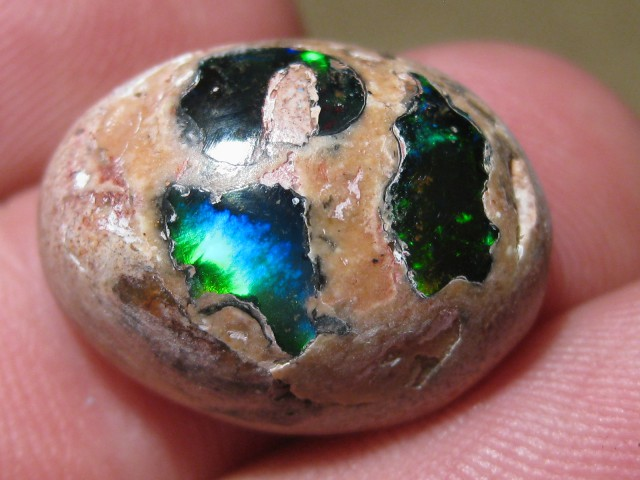 OpalWeb - Gemmy Mexican Doublet Opal - 14.90Cts.