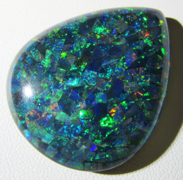 Cts large Mosaic triplet  Opal  AGR779