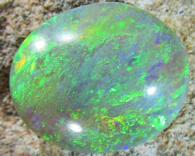 5.5Cts Cabochon Gem crystal Opal  CK 404A