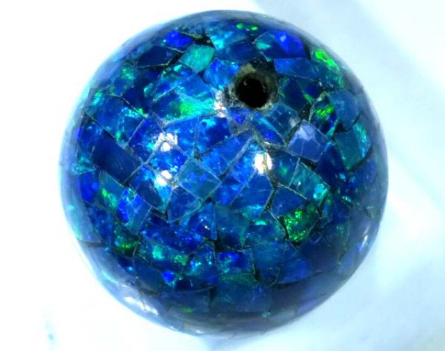 MOSAIC OPAL BEAD  DRILLED 12.55 CTS  LO-1615