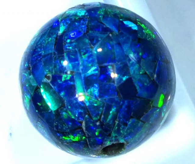 MOSAIC OPAL BEAD  DRILLED 10.65 CTS  LO-1622