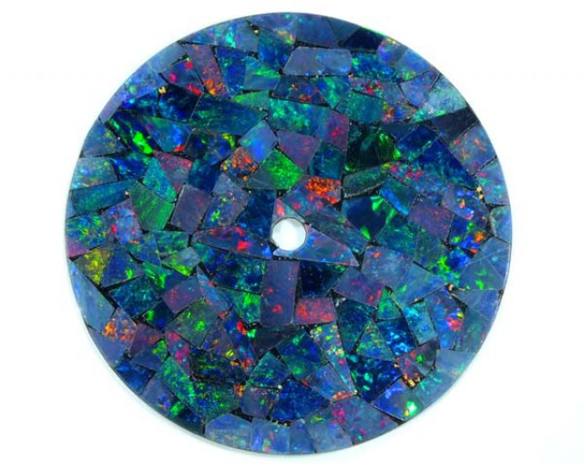 MOSAIC OPAL  WATCH FACE 5.00 CTS  LO-1646