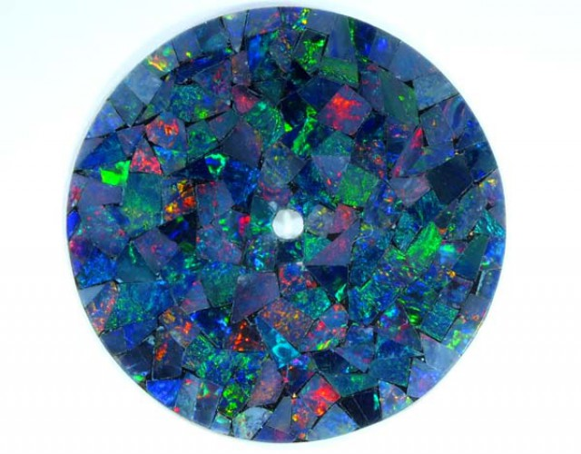 MOSAIC OPAL  WATCH FACE 4.85 CTS  LO-1649
