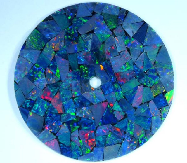 MOSAIC OPAL INLAYWATCH FACE 4.75 CTS  LO-1656