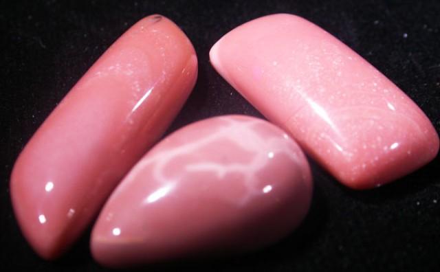 38.4 CTS AUSTRALIAN  PINK OPAL-ORANGE TONE PARCEL [VS6659 ]