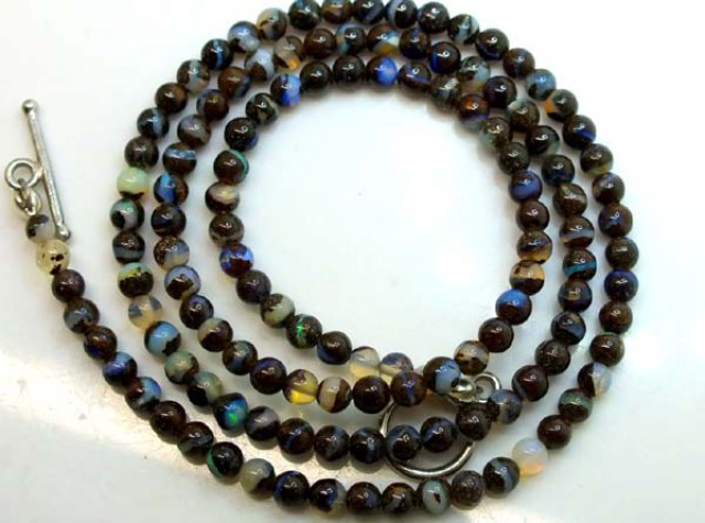 BOULDER OPAL BEADS 55 CTS  LO-1770