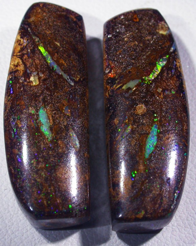 39.5 CTS YOWAH OPAL PAIR-WELL POLISHED [SO4717]