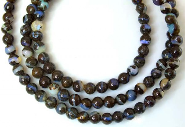 BOULDER OPAL BEADS  60 CTS  LO-1789