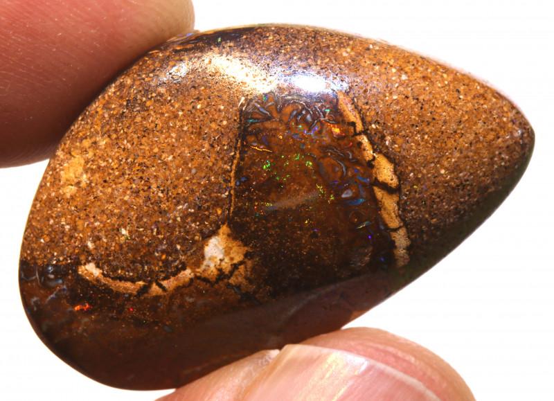 34.30cts Yowah Opal Polished Stone  ADO-1628 - adopals