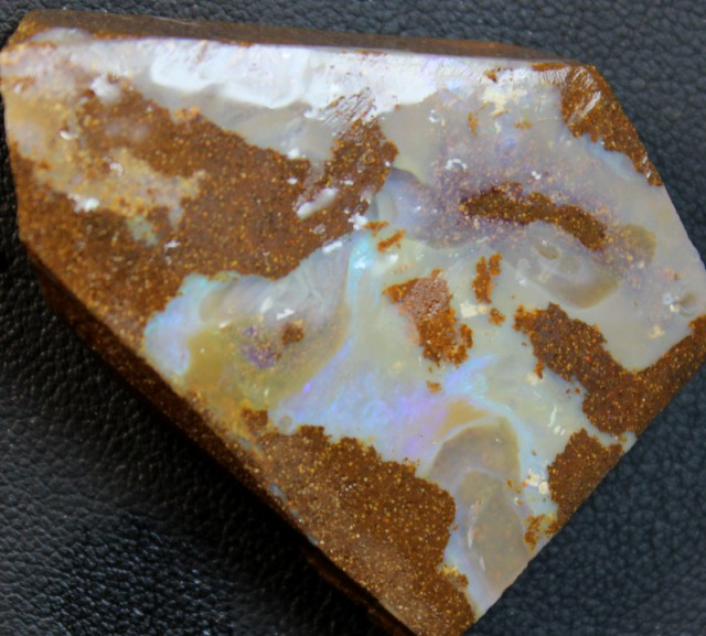 119 CTS BOULDER OPAL RUB FACED FOR EASY CUTTING