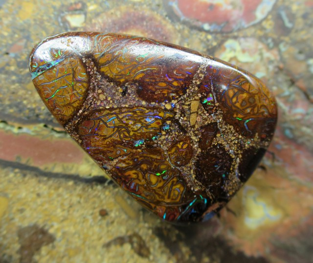 C/O 33cts,WHOLESALE BOULDER MATRIX OPAL.