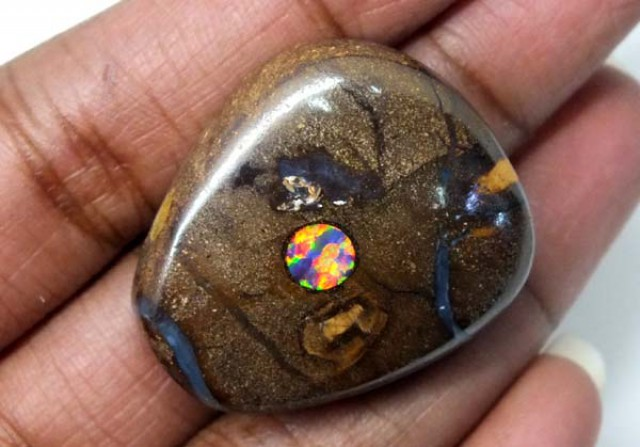 YOWAH OPAL INLAY DRILLED 85   CTS    ADO-1706