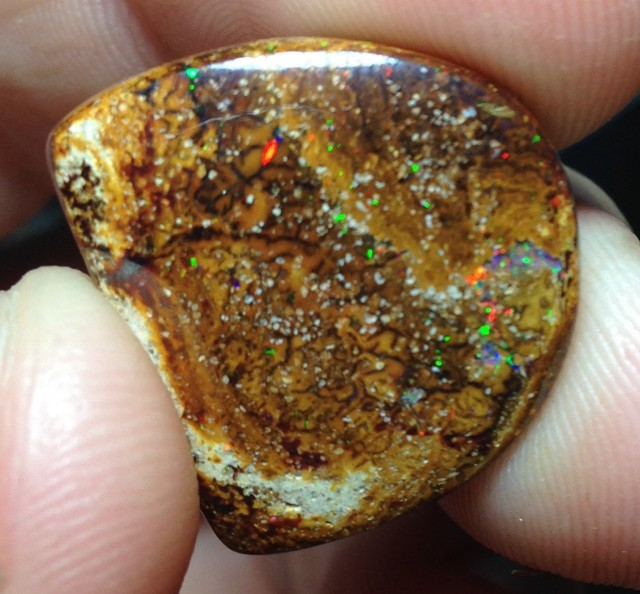 BARGAIN BUY IT NOW Boulder Opal Picture Stone AB400 23cts