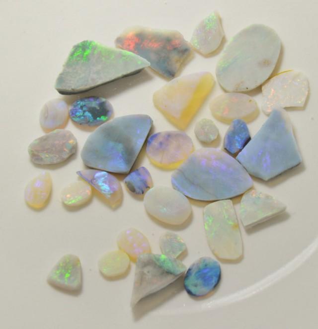 Mintabie Opal Rubs Parcel, 70 c