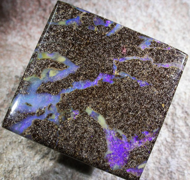 50.0 CTS BOULDER OPAL POLISHED STONE [SO5183]