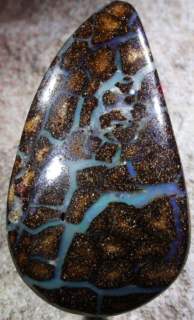 61.6 CTS BOULDER OPAL POLISHED STONE [SO5186]