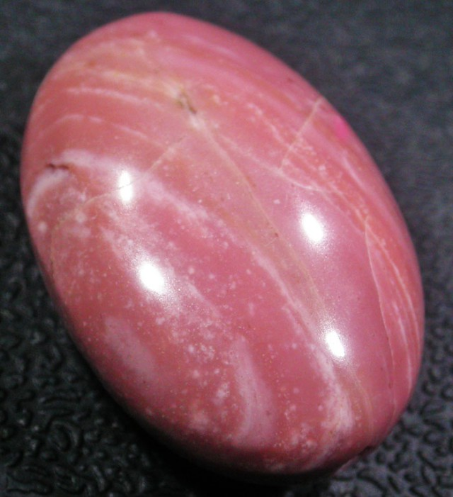 25.3 CTS PINK OPAL BEADS -TOP POLISH! [VS6744]