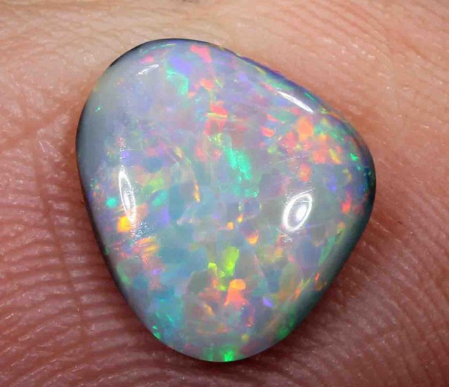 FREE SHIPPING   1.90 ct BLACK OPAL FROM LR - FREE SHIPPING
