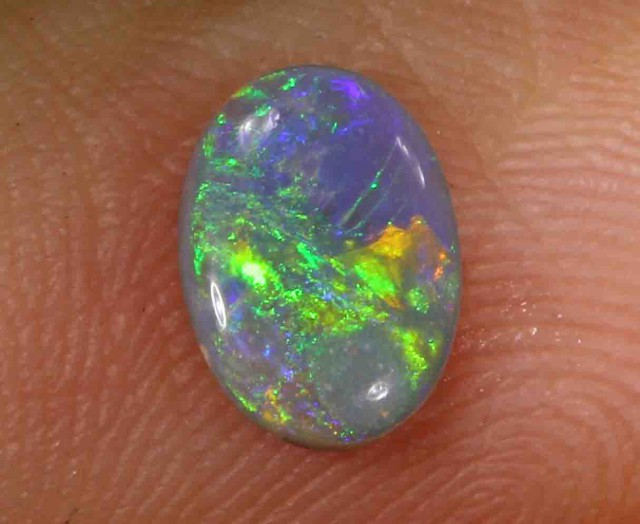 1.0 CT BLACK OPAL FROM LR - 1.0 CTS