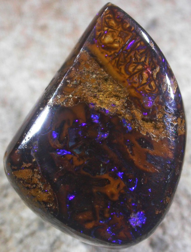 26.8 CTS YOWAH STONE WELL POLISHED [BMA4055]