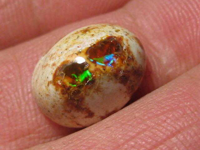 OpalWeb - Gemmy Mexican Opal - 7.55Cts.