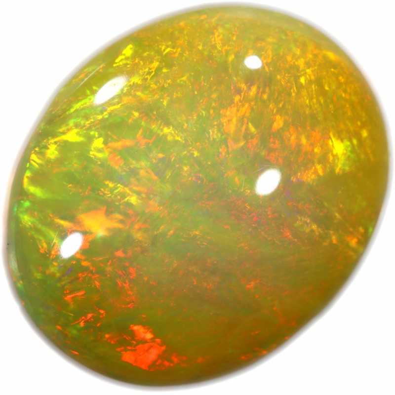 TOP QUALITY ETHIOPIA WELO OPAL MAGIC COLOR PLAY 4.53 CTS A8440