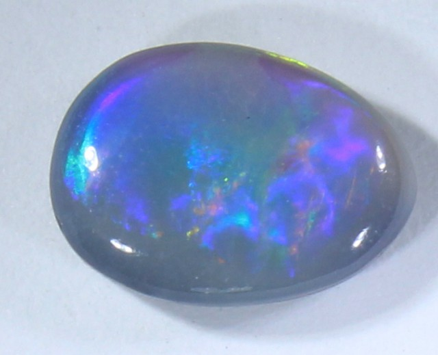 0.75 CTS BLACK OPAL POLISHED STONE LIGHTNING RIDGE C9301