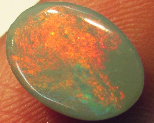 Fire Flash Opal  Semi black QOM 1501