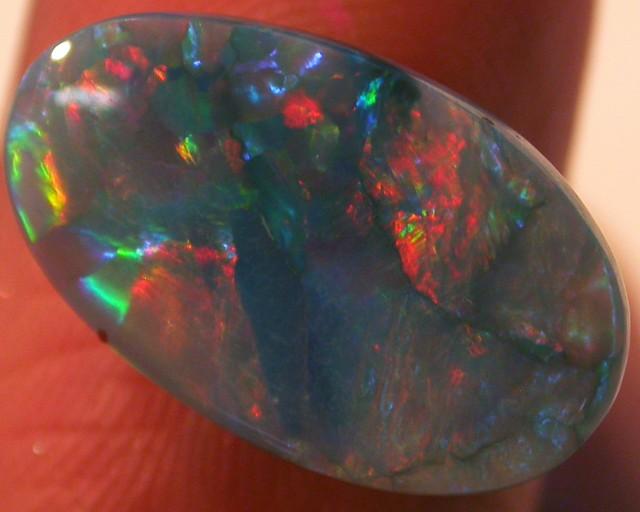 Fire Flash Opal  Semi black QOM 1506