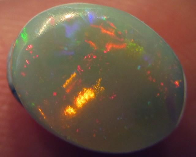 Fire Flash Opal  Semi black QOM 1509