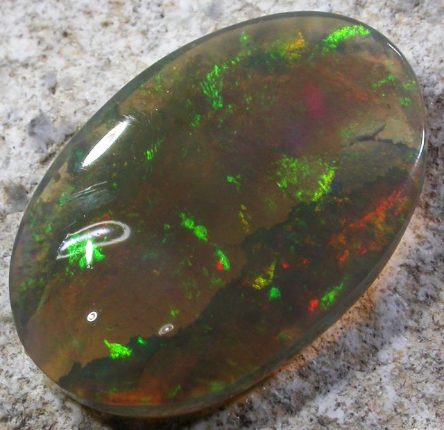 6.65 CTS CRYSTAL OPAL LIGHTNING RIDGE [Q1988]