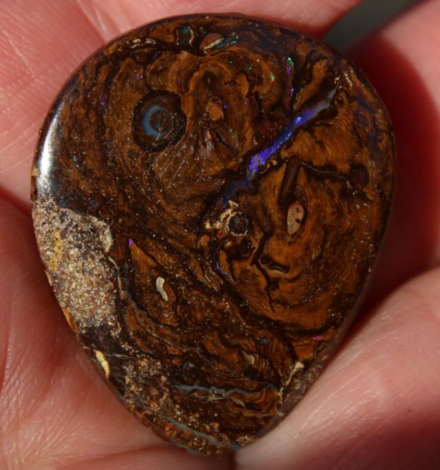 Koroit Boulder Pendant Piece 74 carats Blues