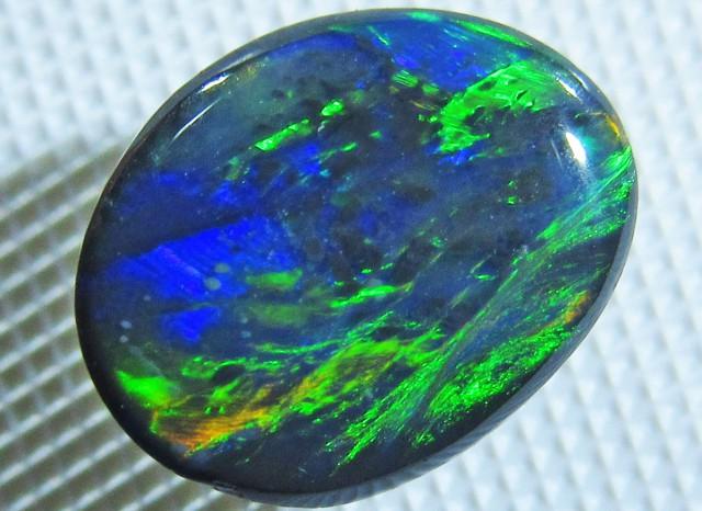 Multiple Fire  HuesBlack opal QOM1556