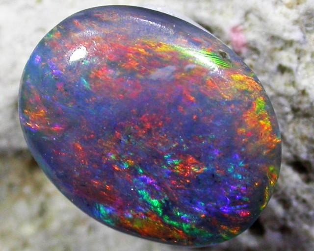 Multiple Fire  HuesBlack opal QOM1557